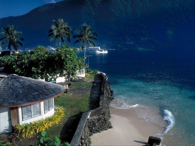 Западное Самоа- центр вселенной