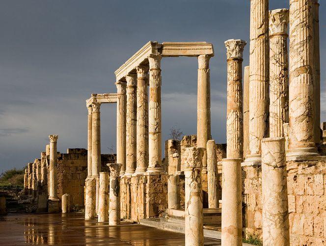 Архитектурные древности Ливии-14