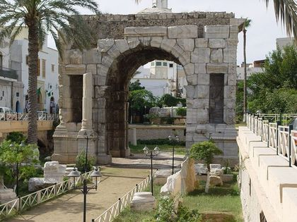 Архитектурные древности Ливии-3