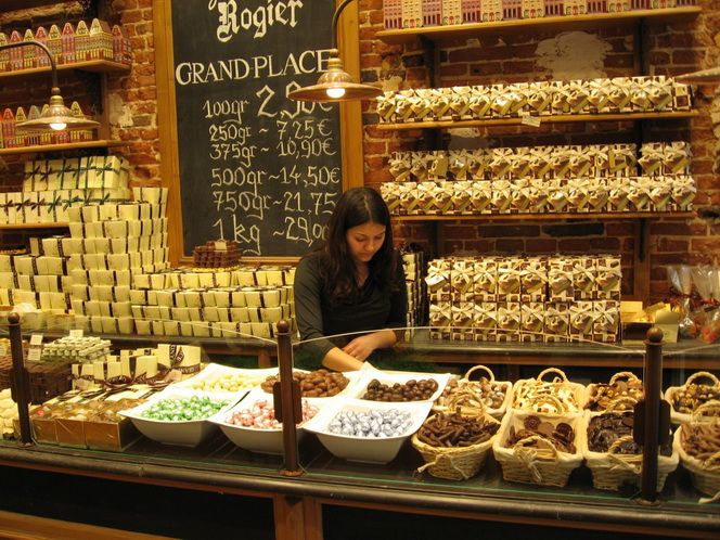 Бельгия замки, шоколад, кружева и не только-14
