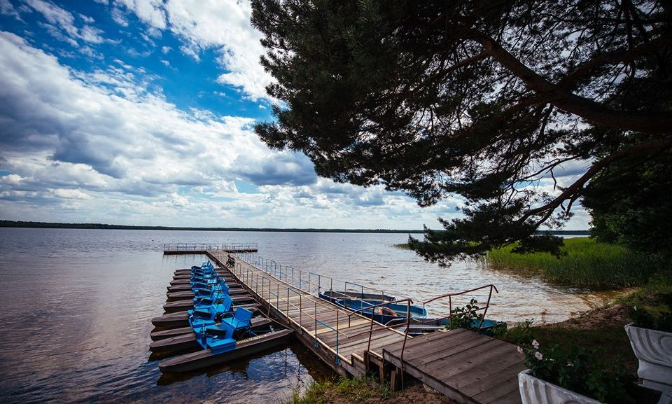 Белое озеро, Украина